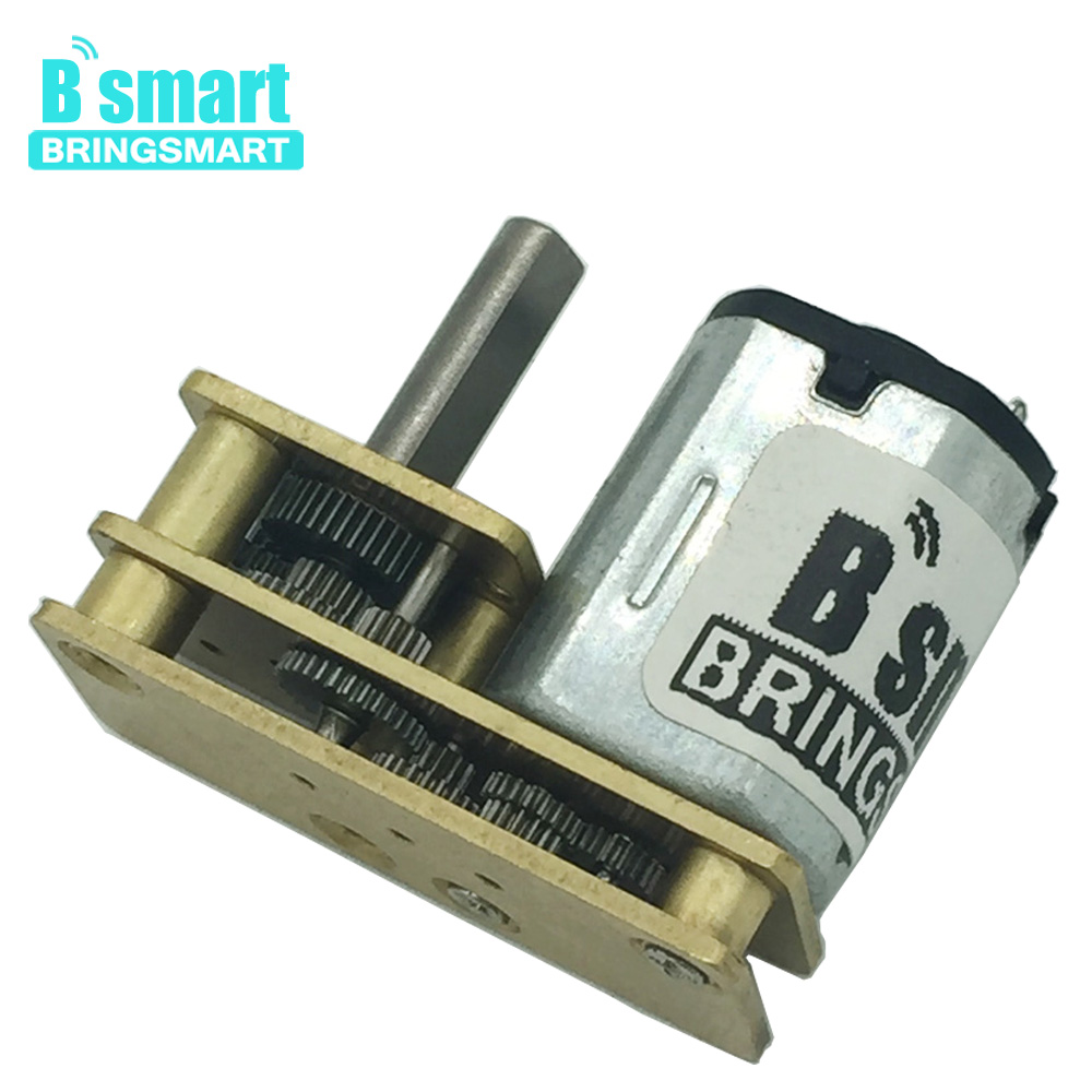 Bringsmart JGA1024-N20 DC Mini Motor 12V with Reversed geared Motor DC 3V Micro Gear Reducer Motor 6V for Toy Models DIY RobotBringsmart JGA1024-N20 DC Mini Motor 12V with Reversed geared Motor DC 3V Micro Gear Reducer Motor 6V for Toy Models DIY Robot