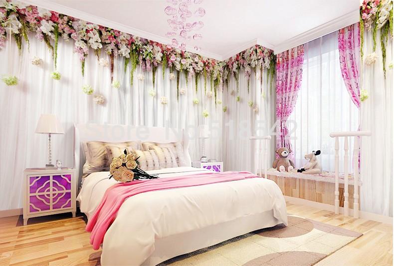 Niestandardowe zdjęcia tapety stereoskopowe 3d europejskiej duszpasterska włókniny mural sypialnia salon tło wystrój domu tapety 4