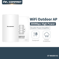 Comfast 2,4 ГГц 300 м Открытый CPE Беспроводной Wi Fi роутера 16 м Дополнительная вспышка AP точки доступа Wi Fi мост с 13dbi антенна 48 В POE