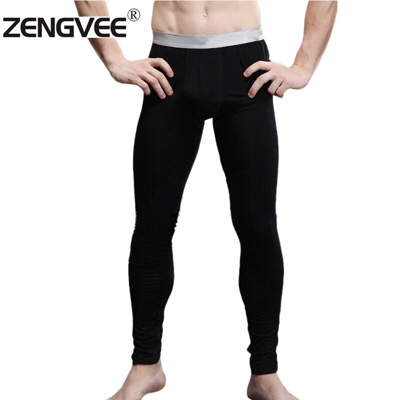 Men' Thermal Underwear Pants Long John Men Material Modal Size