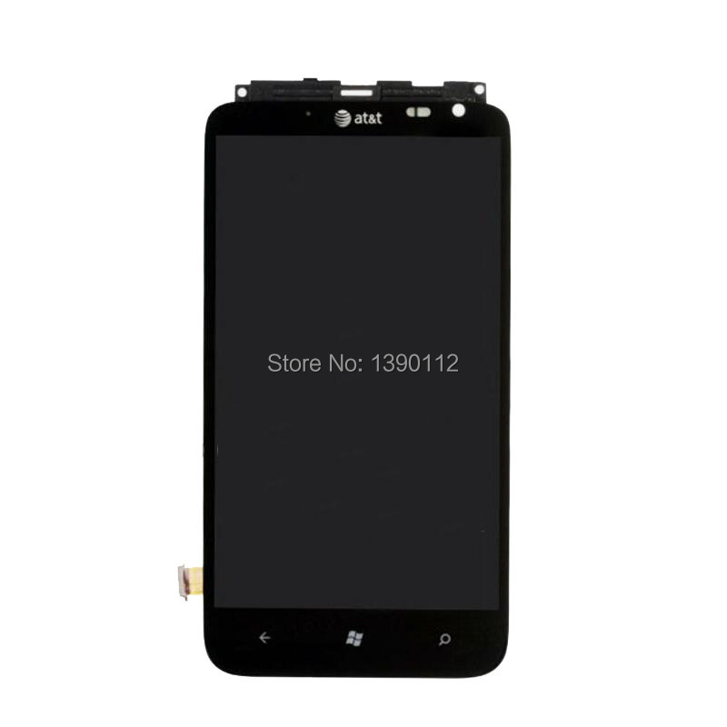 OEM For HTC Titan 2 Housing LCD Display Touch Digitizer Screen Assembly + Frame