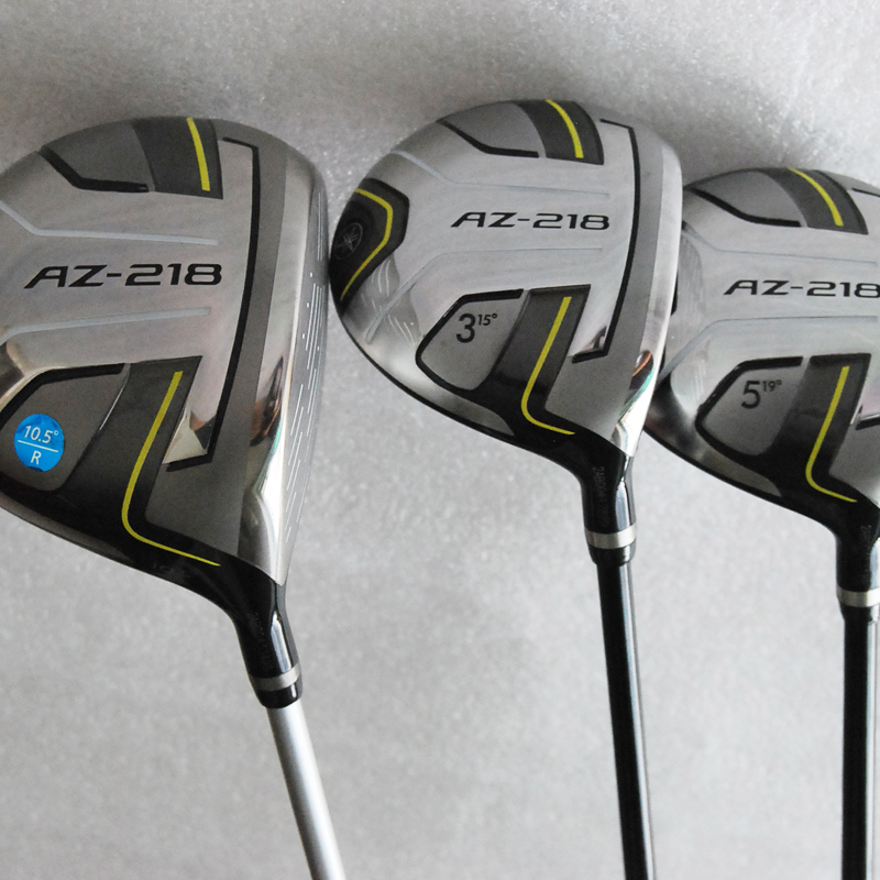 купить Cooyute New mens Golf clubs AZ-218 Golf wood set driver 9.5/10.5 Loft+3/5 fairway wood with Graphite Golf shaft free shipping по цене 22099.19 рублей