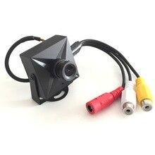 Mini Camera Video Audio Color Monitor Security Color 1/3inch COMS 480TVL 3.6mm