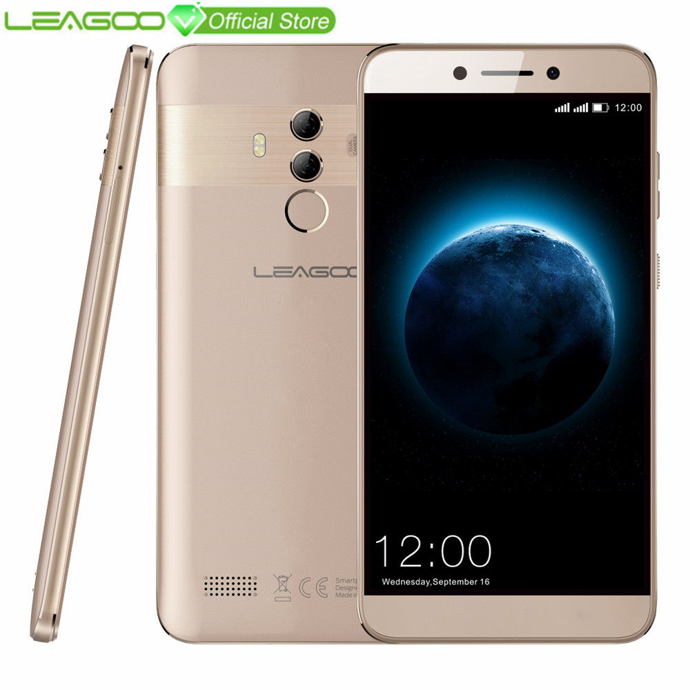 "LEAGOO T8s Mobile Phone 5.5"" FHD 16:9 1920*1080 RAM 4GB ROM 32GB Android 8.1 MT6750T Octa Core Face ID 13MP 4G Smartphone"