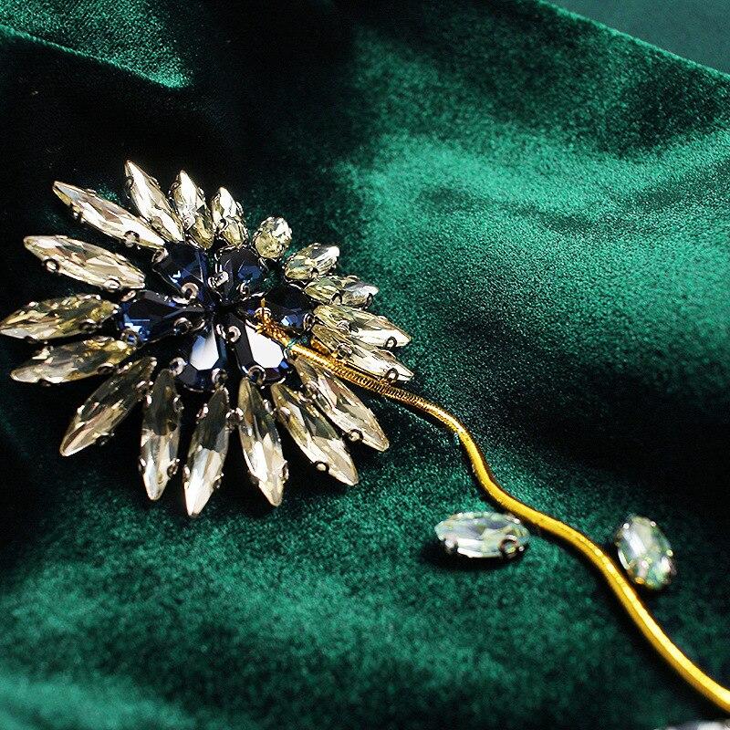 Femmes Vestes Cardigan 2018 Hiver Manches uni Style Longues Veste Perlé Perles Nouveau Fleurs noir À Royaume Luxe Velours Printemps De Vert 08Rzwq