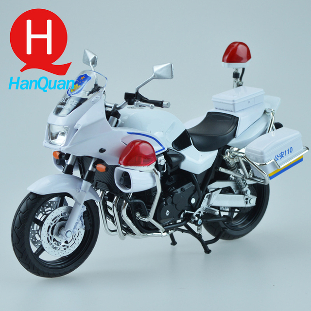 18cm 2016 Hot Large Size Brand New Cool Scale Police Motorbike Models Metal Motorcycle Toy For Collection/Gift/Kids Good Quality