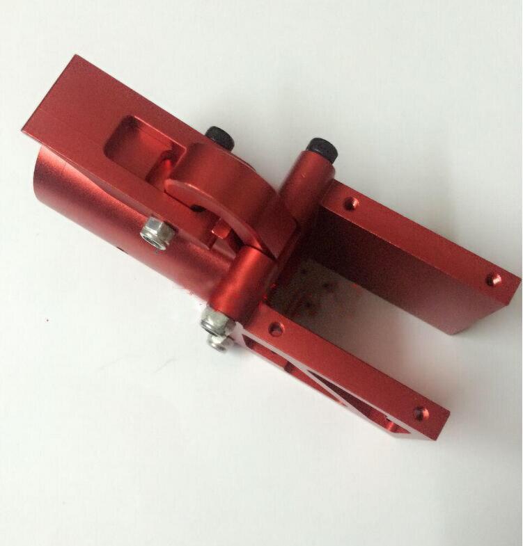 Neue ankunft 2 teile/los d30 faltbare rc drone arm zubehör aluminiumlegierung gelenkarme fpv diy ersatzteile rot/schwarz