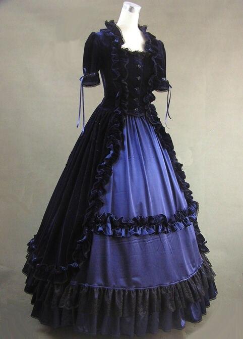 Costume Guerre Dames Multi Victorienne Robe Civile Épées Jour HIE9DWeY2