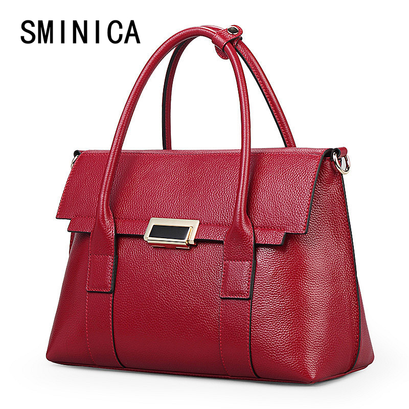 famous brand leather handbag Leisure women bags handbags woman shoulder ladies top-handle Women's tote messenger Bag 10S3173 2017 boston women messenger bags inclined shoulder ladies hand bag women leather handbag woman bags handbags women famous brands
