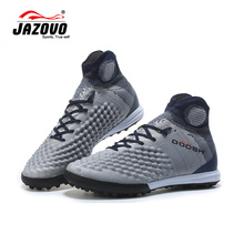 2018 Jazovo Soccer Shoes IC Breathable Superfly FG Football Boots Cushion Waterproof Sneakers High Ankle Shoe Size39-45