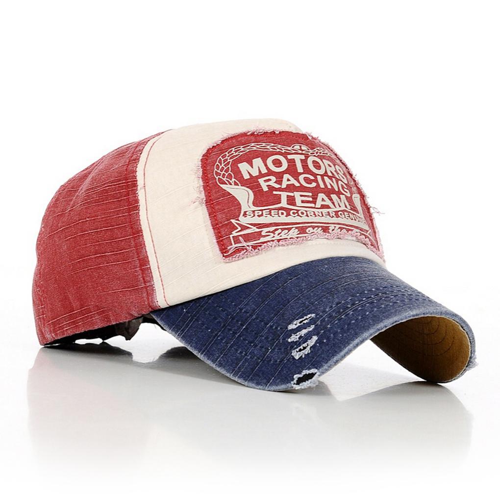 newest motors racing team wear cotton baseball snapback