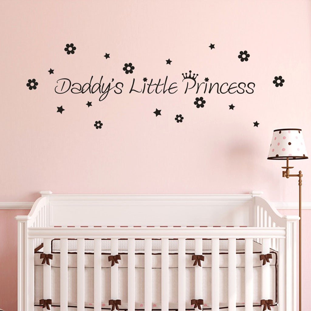 Princess Wall Sticker Removable PVC Wall Sticker DIY Home Decor BIN