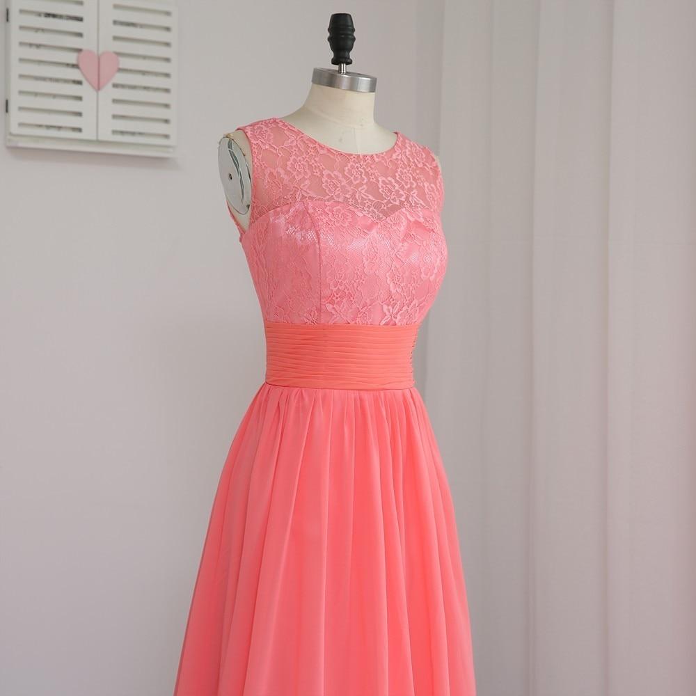 Hermosa Vestidos De Dama Condado De Orange Molde - Colección de ...