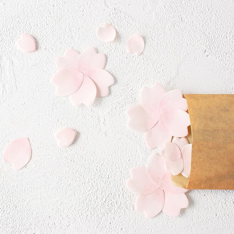 4 ədəd / Çox mini Yonca yarpaq stikeri gündəliyi Çiçək Sakura - Qeyd kitabçaları - Fotoqrafiya 4