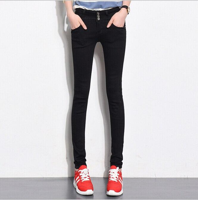 Fashion Jeans women large size women pants slim jeans woman tights lady Jeans S XL plus