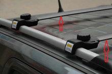 Черные поперечные рейки на крышу для jeep patriot 2007 2012