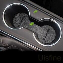 Ranhura da porta de armazenamento de montanha russa de água almofada anti-skid pad pad poeira pad modificação Acessórios do carro Para Chevrolet Equinox 2017 2018 2019