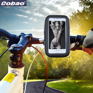 Universal waterproof motorcycle bicycle phone holder large size scooter mobile phone mount holder stand for smartphone Iphone
