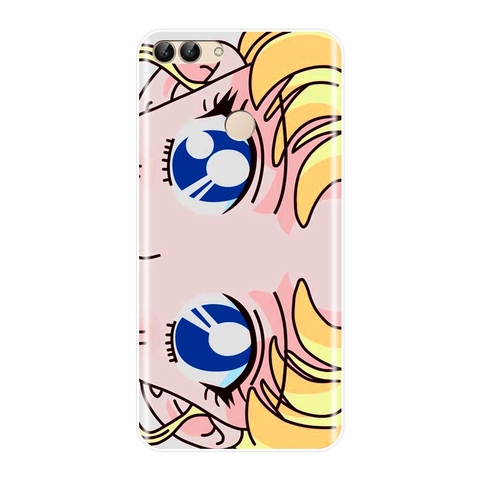 Sailor Moon Phone Case For Huawei P8 P9 Lite Mini 2017 Silicone Soft Back Cover For Huawei P20 Lite Pro P9 P10 Plus P Smart Case Lahore