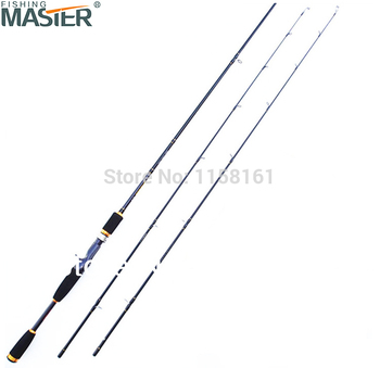 Free Shipping By EMS/UPS Baitcasting Carbon 2.1M Spining Fishing Lure Rod 1.98M 2.4M