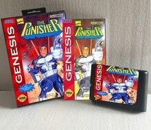 16 Бит MD карты для Sega MegaDrive Genesis для С Ручная Книга + Розничной Коробке — Каратель