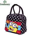 Kids Lunch Bag for Women Hello Kitty Minion Doraemon Students Handbag for Lunch Insulated Thermal Cooler Bag Children Picnic Bag