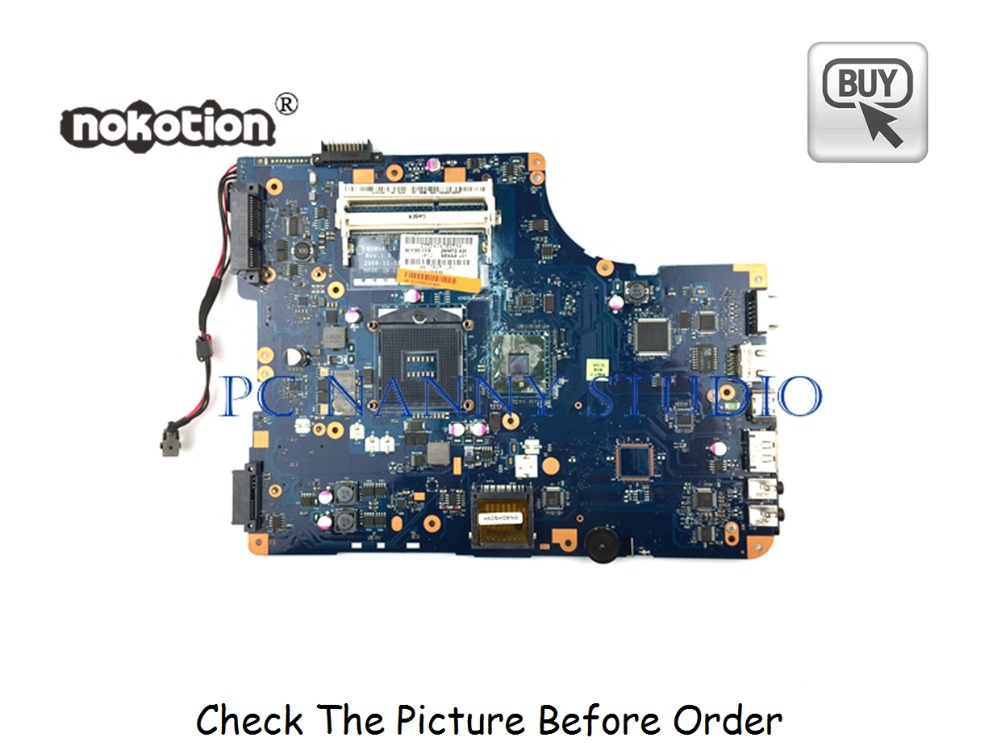 PANANNY K000092540 For Toshiba Satellite L500 L505 Motherboard NSWAA LA-5321P DDR3 Tested