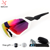 3 Lens 2018 Polarized Cycling Sunglasses Men Outdoor Sport Bike Glasses Bicycle Sunglasses Cycling Glasses Cycling Eyewear