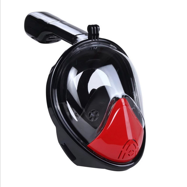 The New Full Face Scuba Diving Mask With Gopro Camera Anti Fog Waterprool Fishing Swimming