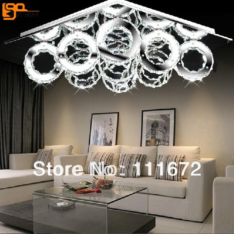 Licht & Beleuchtung Deckenleuchten 2019 Neuer Stil Moderne Led Kristall Deckenleuchte Lampe Mit 5 Lichter Für Wohnzimmer Lüster Kostenloser Versand