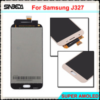 Sinbeda 100 Test Super AMOLED LCD For Samsung Galaxy J3 Prime 2017 J327 LCD Digitizer Touch