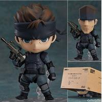 Nendoroid Metal Gear Solid SONS OF LIBERTY 447 Solid Snake Cartoon Anime Action Figure PVC Collection