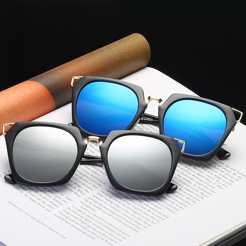The new sunglases retro big sunglass box sunglasses trend wild star with the paragraph sunglasses ladies personality sun glasses