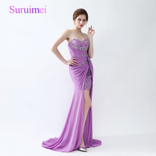 Popular Purple Prom Dress-Buy Cheap Purple Prom Dress lots from ...