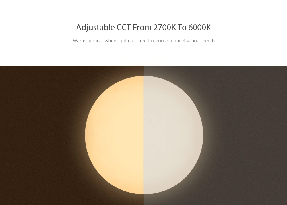 Mijia Yeelight Ceiling Light Pro 450/480/650mm Remote APP WIFI Bluetooth Control Smart LED Color IP60 Dustproof Ceiling Lamp