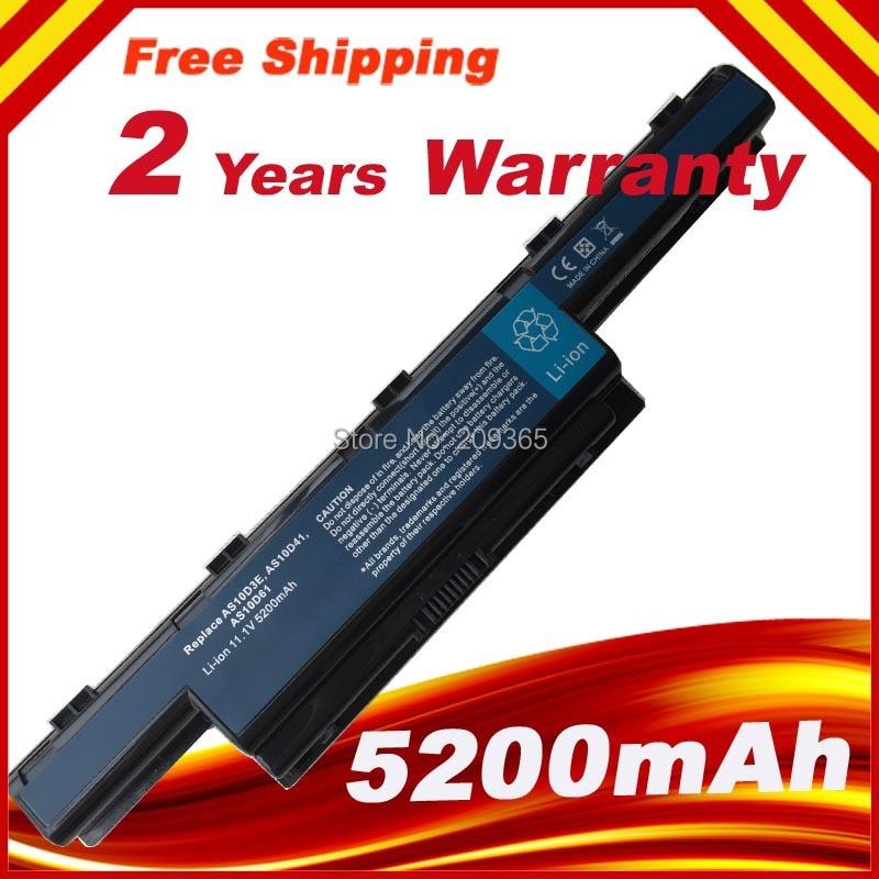 Laptop Battery For Packard Bell Easynote TK81 TK83 TK85 TK87 TK36 TK37 TXS66HR TS11HR TS11SB TS13HR TS13SB 6 Cells