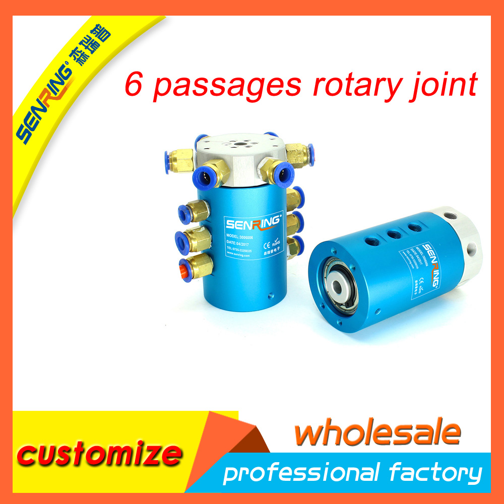 rotary joint hot selling 6 passages