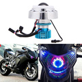 12V 18W/8W LED Laser Headlight High/low 2 Modes Superbright 2200LM  LED Head Lamp for Car / Motorcycle / Bicycle