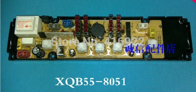 Free shipping 100% tested for washing machine Computer board XQB50-8050 XQB55-8051 control board motherboard free shipping 100%tested for jide washing machine board control board xqb55 2229 11210290 motherboard on sale