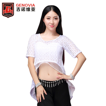Women Belly Dance Skirts Waves Skirt fishtail Skirt Lace Long Skirt Dress Hollywood Performance Belly Dance (without belt) retro style women s lace splicing fishtail skirt