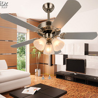 Modern minimalist living room ceiling fan light fan lights restaurant with a 42 inch rope section Kiba Ceiling Fans Rmy 0218