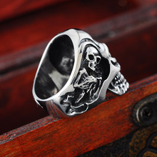 Viking Skeleton Ring