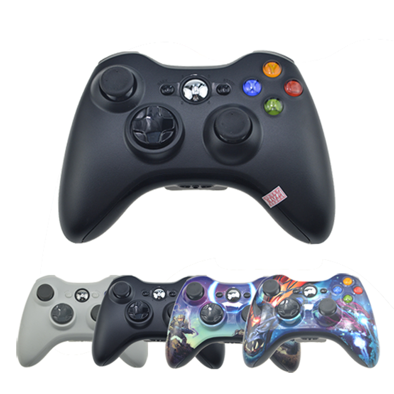Wireless Bluetooth Controller For Xbox 360 Gamepad Joystick For X box 360 Jogos Controle Win7/8 Win10 PC Game Joypad For Xbox360 black white battery cover shell case kit for xbox 360 remote wireless controller joystick gamepad joypad