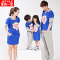 Autumn and winter Family look clothing sets fall cotton dress mother and daughter son father children clothes boy girl matching