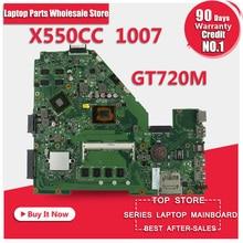 X550CC R510C R510CC 1007u cpu X550CC Motherboard Non-integrated Tested ok warranty 90 days