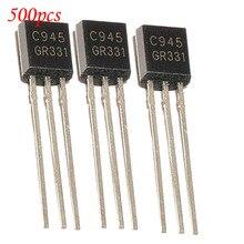 500 шт./лот в он-лайн триод C945 2SC945 TO-92 Общего Назначения Транзистор Оригинальные новых Специальных продаж