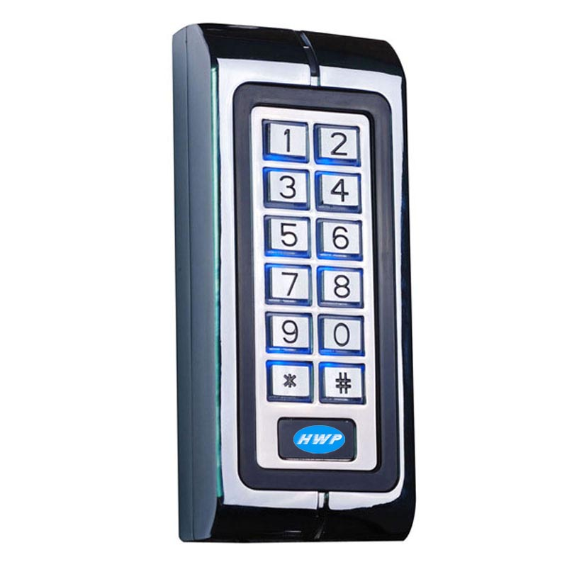 Metal keypad metal access control
