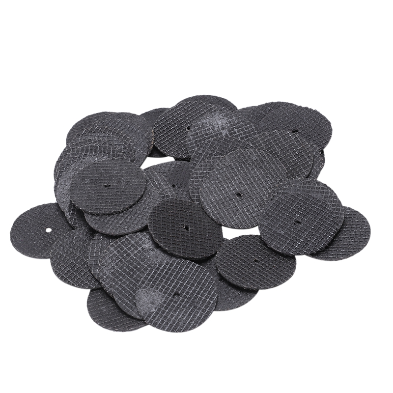 Hot 25pc 32mm Resin Cutting Wheel Cut-off Discs Kit 1pc Mandrel For Rotary Tool