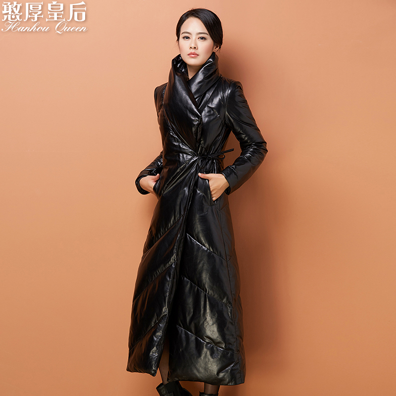 genuine leather down coat 2016 Winter Jacket Women down ...