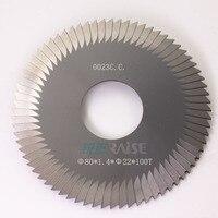 Raise 0023C C Carbide Tungsten Key Cutter 80 1 4 22mm 100T Saw Blade Mini Circular